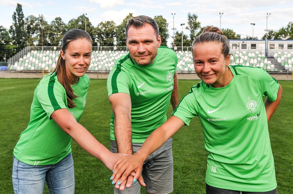 Trenerzy sekcji kobiecej piłki nożnej w Warcie Poznań